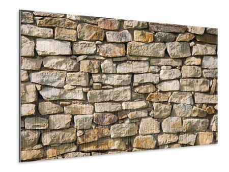Metallic-Bild Natursteine