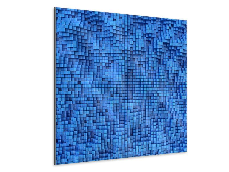 Metallic-Bild 3D-Mosaik