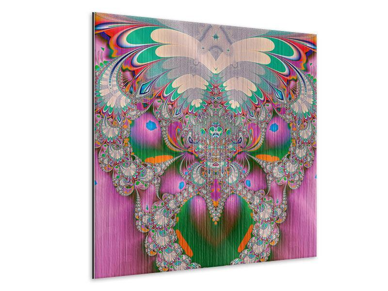 Metallic-Bild Fraktal Design