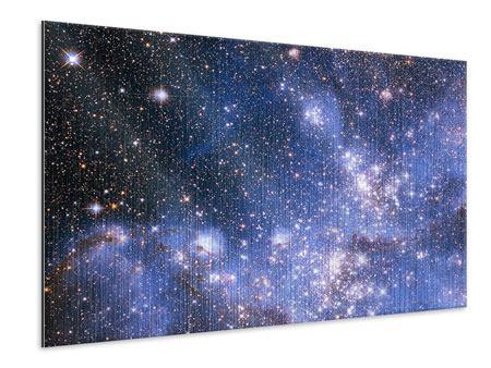 Metallic-Bild Sternenhimmel
