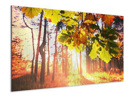 Metallic-Bild Herbst