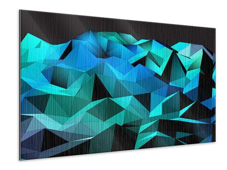 Metallic-Bild 3D-Diamonds