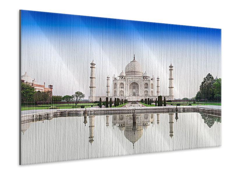 Metallic-Bild Taj Mahal