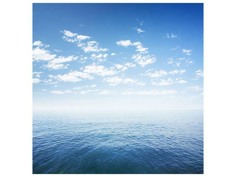 Metallic-Bild Unendlichkeit Meer