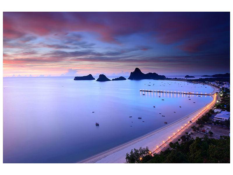 Metallic-Bild Ano Manao Bucht