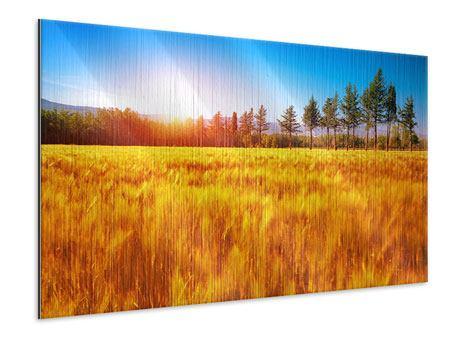 Metallic-Bild Der Herbst