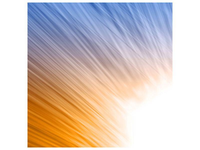 Metallic-Bild Abstraktes Lichterspiel