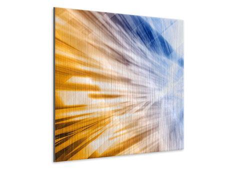 Metallic-Bild Abstrakte Galaxie