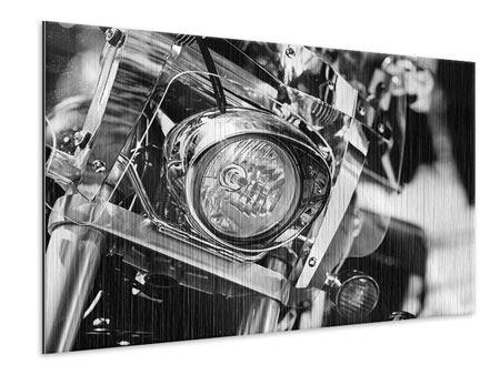 Metallic-Bild Motorrad Close Up