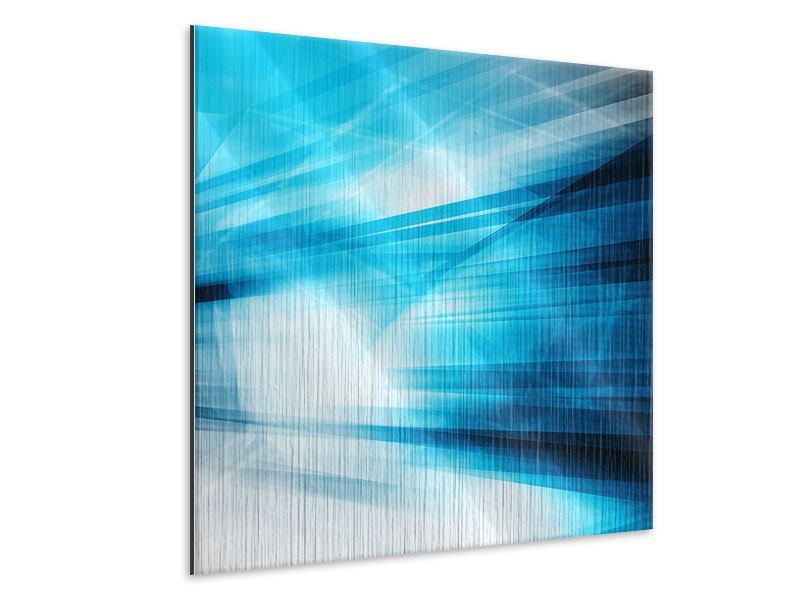 Metallic-Bild Abstrakte Lasershow