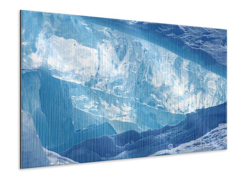 Metallic-Bild Baikalsee-Eis