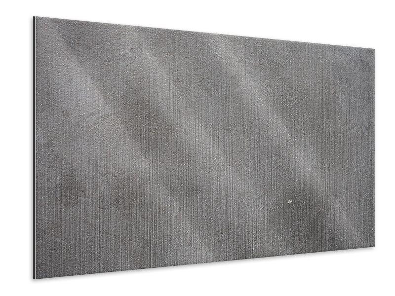 Metallic-Bild Beton in Dunkelgrau