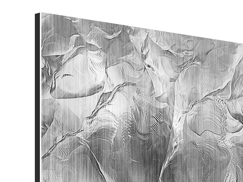 Metallic-Bild Eiswand