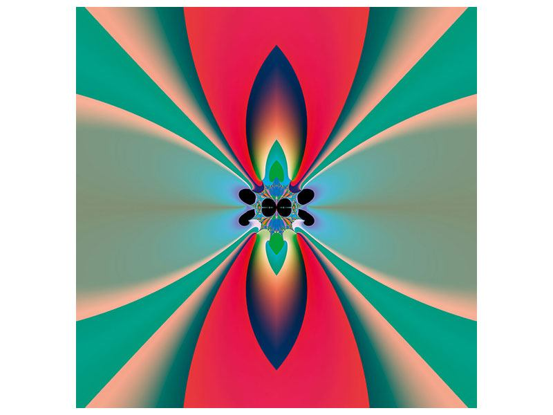 Metallic-Bild Psychedelic Art