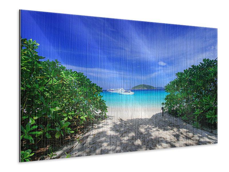 Metallic-Bild Similan-Inseln