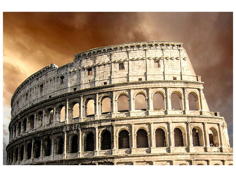 Metallic-Bild Kolosseum Rom
