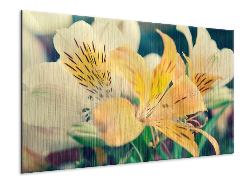 Metallic-Bild Tigerlilien