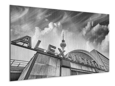 Metallic-Bild Alexanderplatz