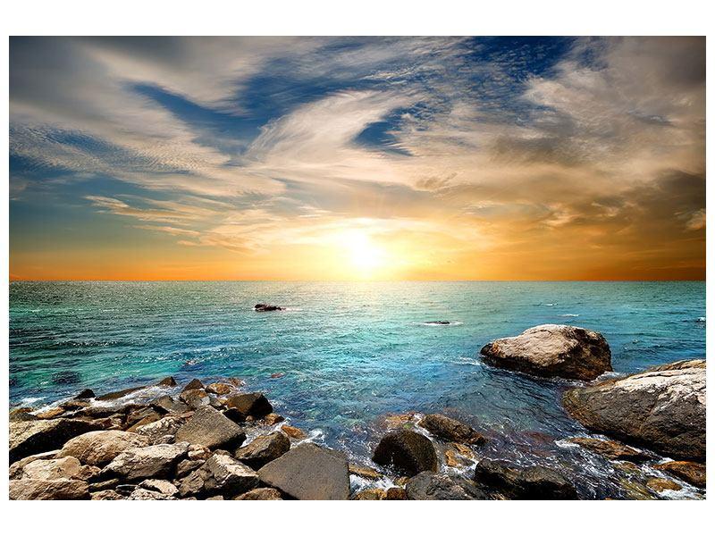 Metallic-Bild Meerwasser