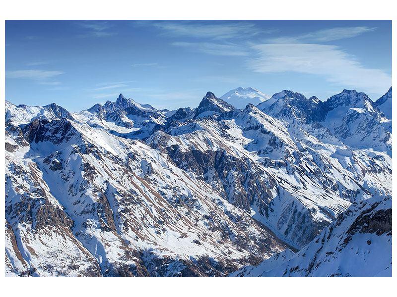 Metallic-Bild Gipfelspitzen