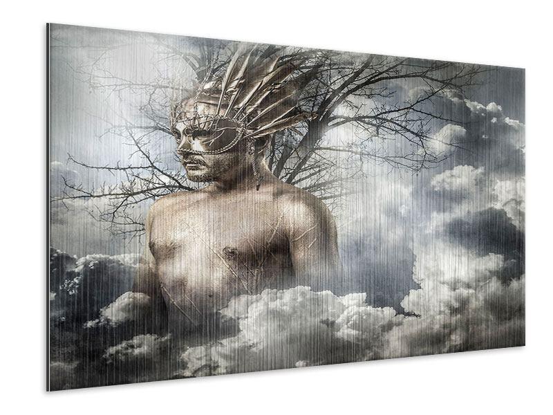 Metallic-Bild Gottheit
