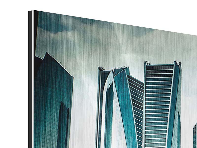Metallic-Bild Luxus Wolkenkratzer in Abu Dhabi