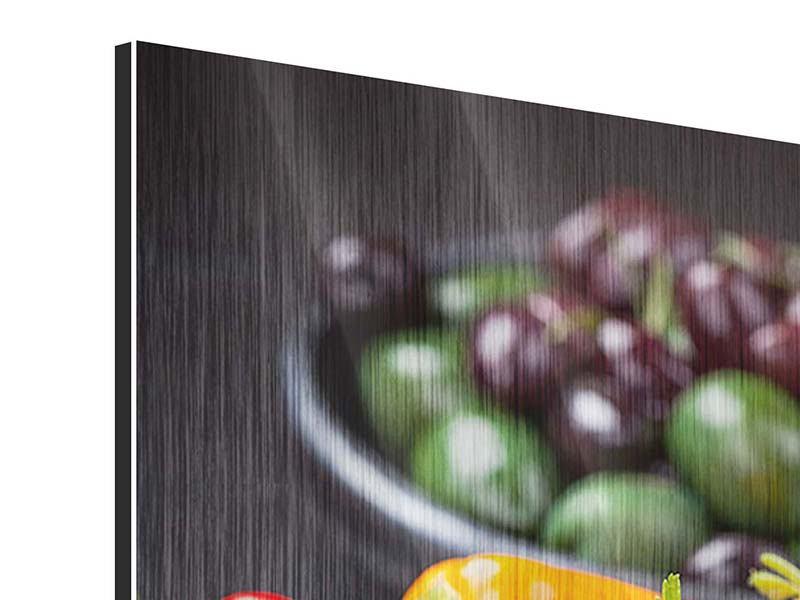 Metallic-Bild Gemüseschale