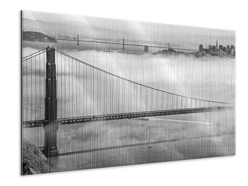 Metallic-Bild Golden Gate Brücke