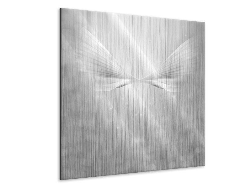 Metallic-Bild Engelsflügel