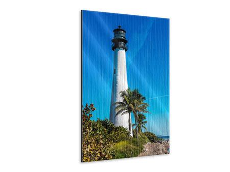Metallic-Bild Leuchtturm
