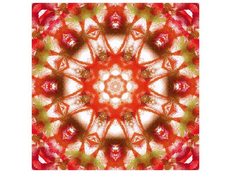 Metallic-Bild Geometrisches Gemälde