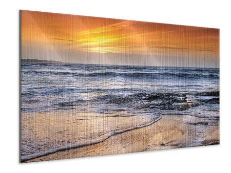 Metallic-Bild Das Meer