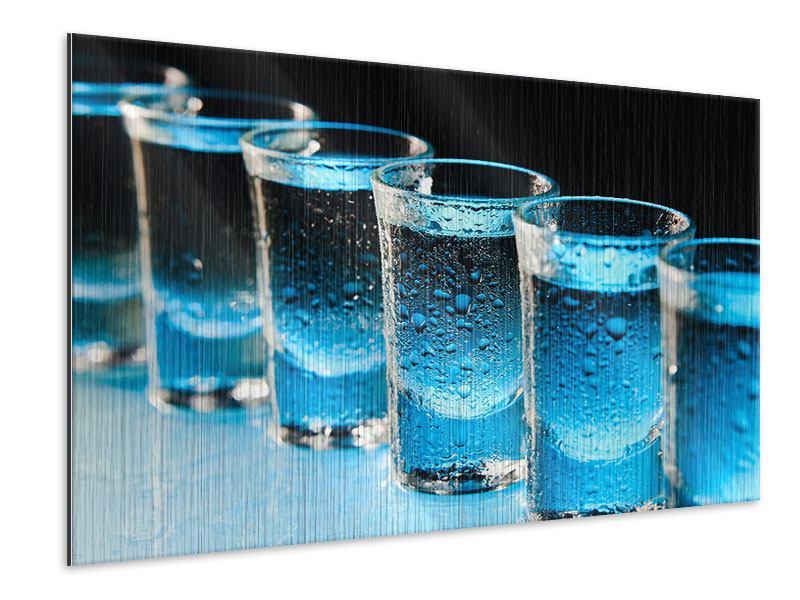 Metallic-Bild Wodka Pur