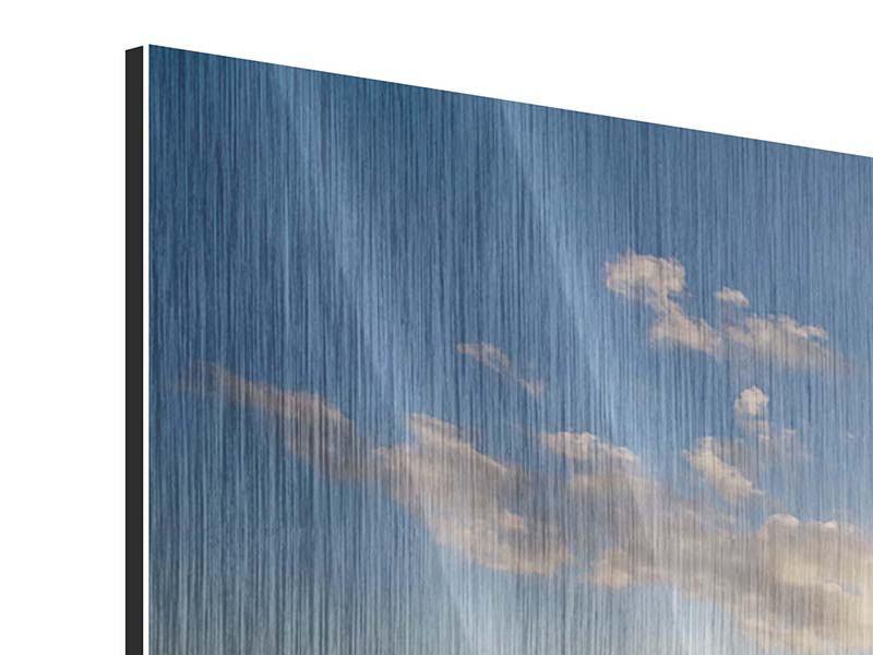 Metallic-Bild 5-teilig Die Wellen des Meeres