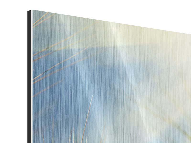 Metallic-Bild 5-teilig König des Getreides