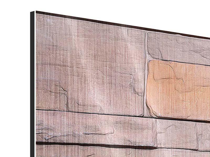 Metallic-Bild 5-teilig modern Wall