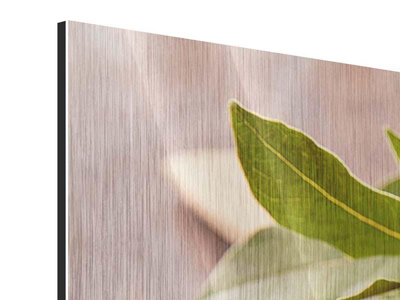 Metallic-Bild 5-teilig modern Der Pfefferlöffel