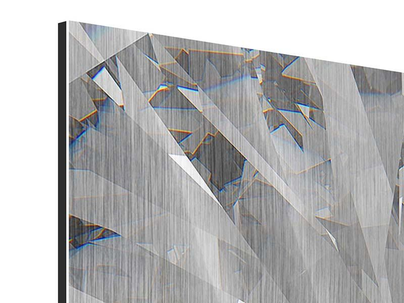 Metallic-Bild 9-teilig Riesendiamant