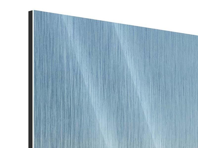 Metallic-Bild 9-teilig Papierschiffchen