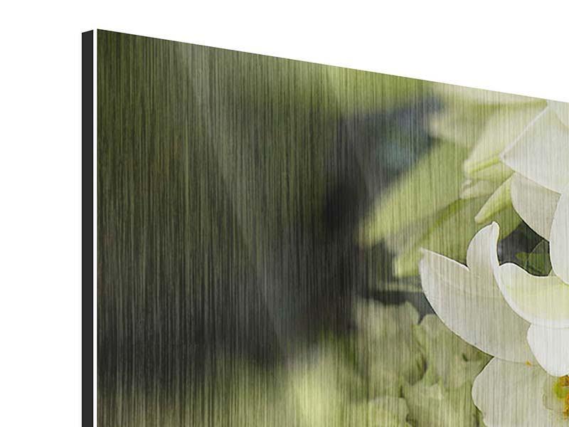 Metallic-Bild 9-teilig Die Lilien und Friends