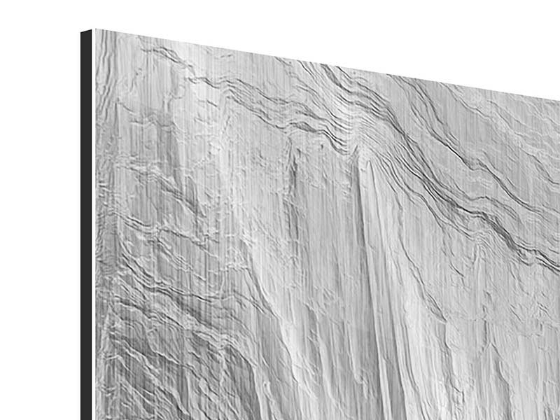 Metallic-Bild 9-teilig Icewall