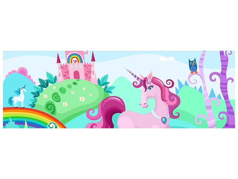 Poster Panorama Prinzessinnentraum