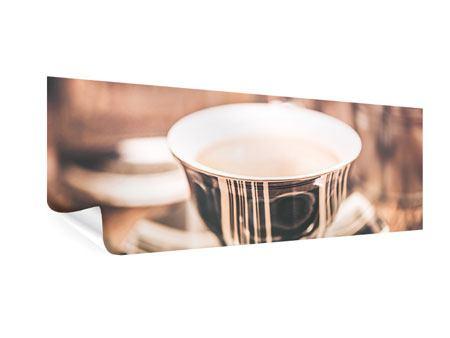Poster Panorama Der Kaffee ist fertig