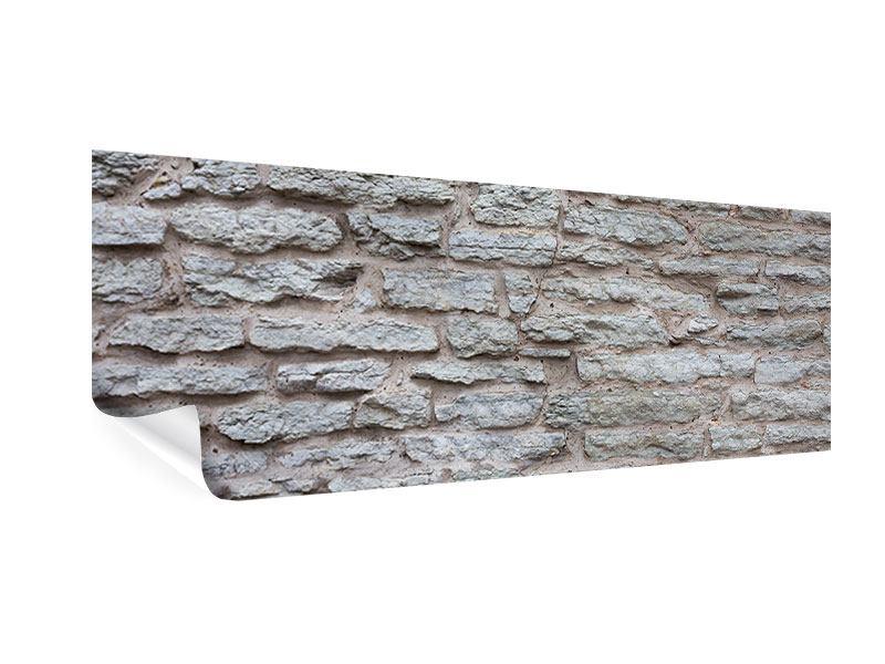 Poster Panorama Steinmauer