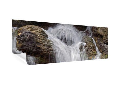 Poster Panorama Wasserfall XXL