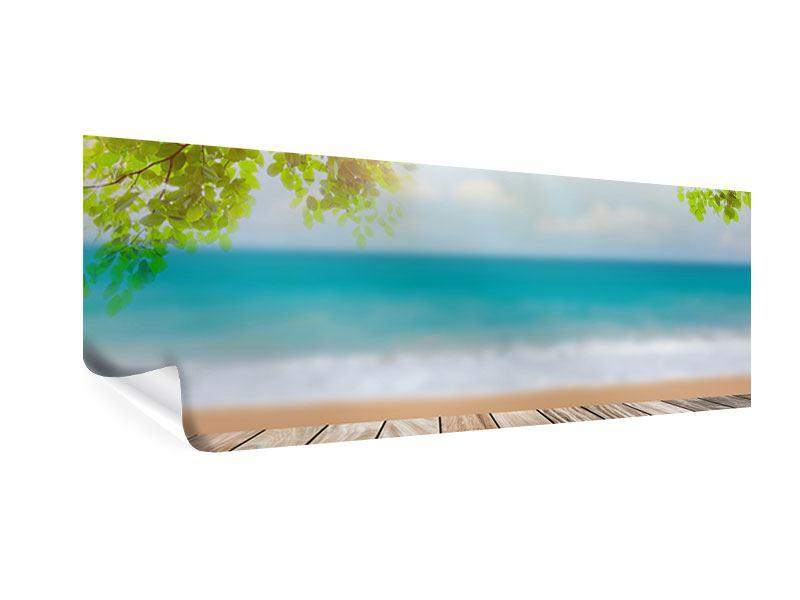 Poster Panorama Strandterrasse