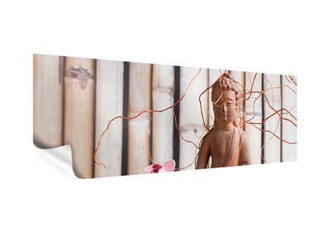 Poster Panorama Buddha + Wellness
