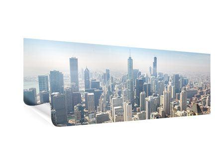 Poster Panorama Wolkenkratzer Chicago