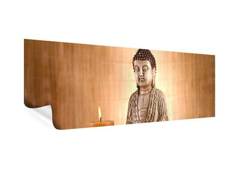 Poster Panorama Buddha in der Meditation