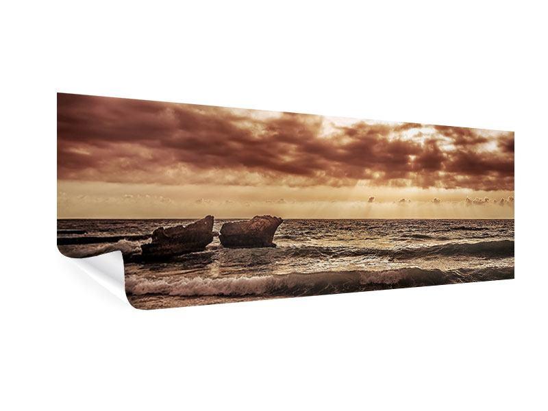 Poster Panorama Meeresrauschen